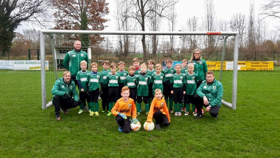 Die Mannschaft der F-Jugend